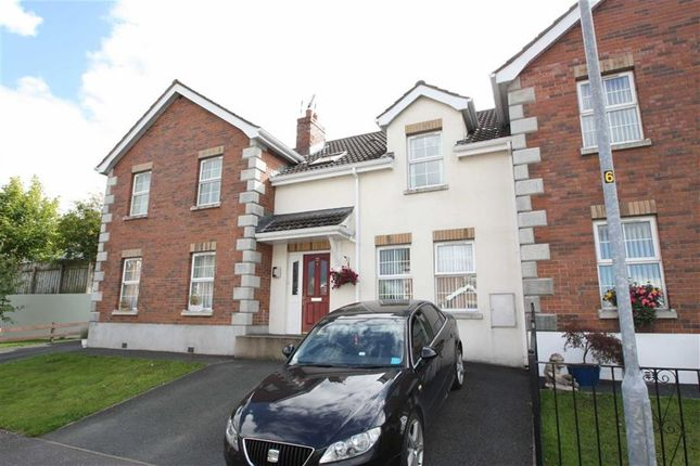 Thumbnail Town house to rent in Chestnut Meadows, Ballynahinch, Co. Down