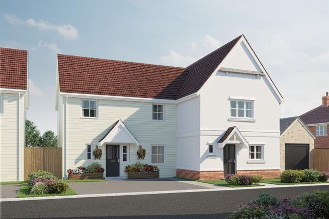 Thumbnail Semi-detached house for sale in The Marigold, Plot 18, Latchingdon Park, Latchingdon