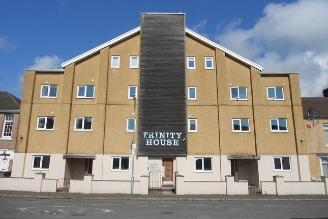 Thumbnail Flat to rent in Trinity House, 60-63 Tydraw Street, Port Talbot, Neath Port Talbot.
