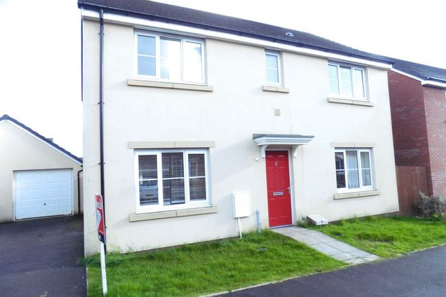 Thumbnail Detached house for sale in Long Heath Close, Caerphilly