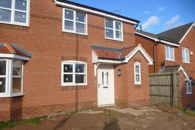 Thumbnail Semi-detached house to rent in Winster Way, Mansfield