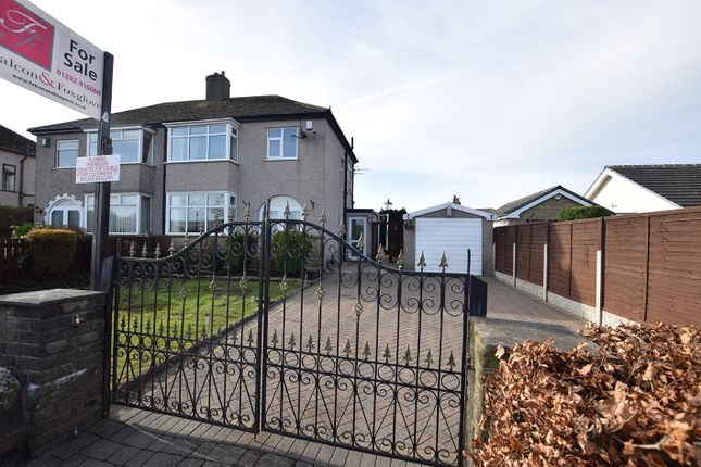 Thumbnail Semi-detached house for sale in Red Lees Road, Cliviger