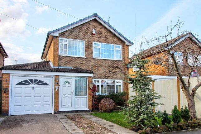 Thumbnail Detached house for sale in Harold Avenue, Heanor, Derbyshire