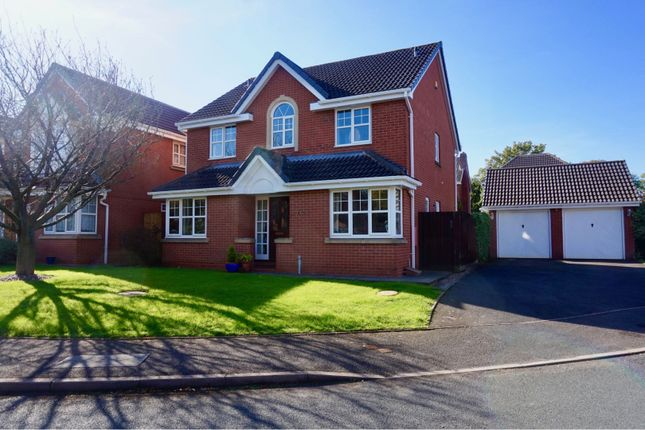 Thumbnail Detached house for sale in Oval Close, St Georges