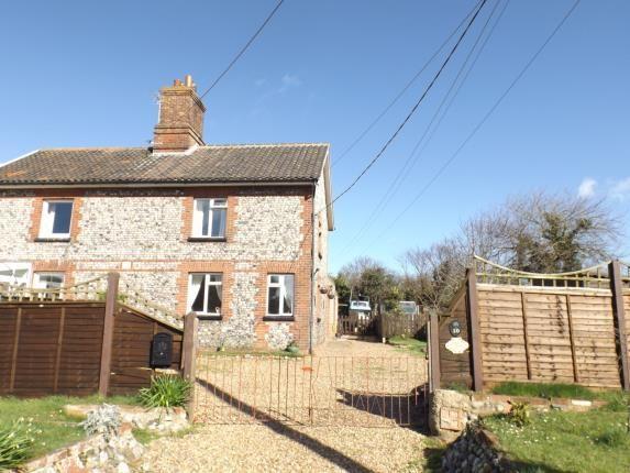 Thumbnail Terraced house for sale in Trimingham, Norwich, Norfolk