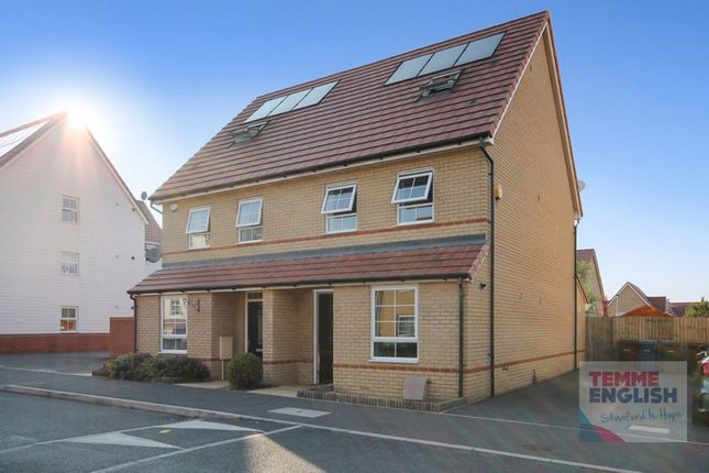 Thumbnail Semi-detached house for sale in Augusta Road, Stanford-Le-Hope