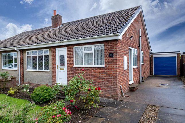 Thumbnail Semi-detached bungalow for sale in Alton Park, Beeford, Driffield