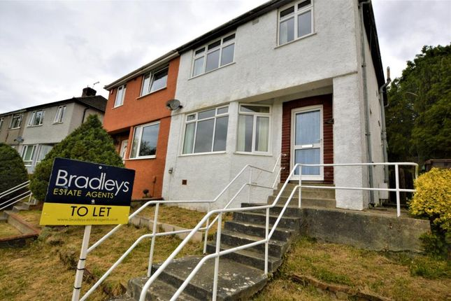 3 bed semi-detached house to rent in Wycliffe Road, Plymouth, Devon PL3