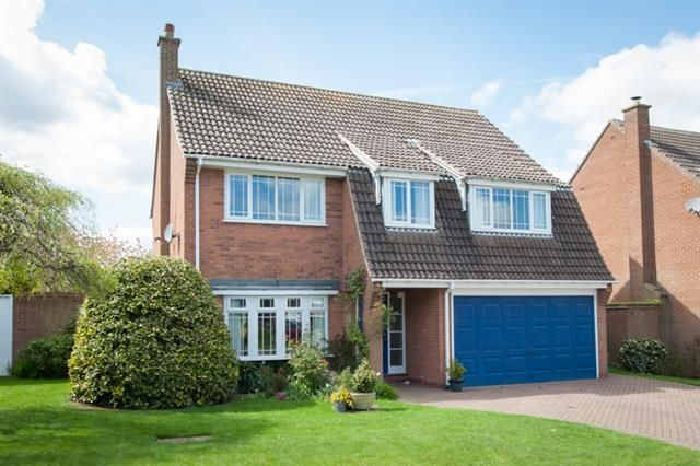 Thumbnail Detached house for sale in Ryknild Close, Four Oaks, Sutton Coldfield
