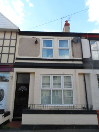 Thumbnail Terraced house to rent in Osbourne Grove, Rhyl