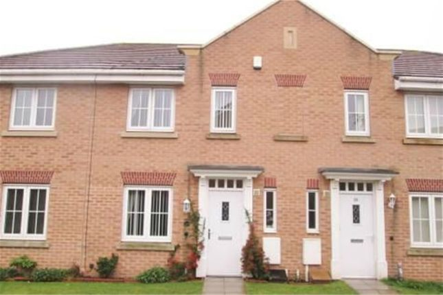 Thumbnail Town house to rent in Samian Close, Worksop, Nottinghamshire