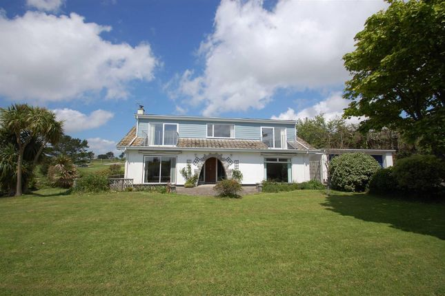 Thumbnail Detached bungalow for sale in Pengersick Croft, Praa Sands, Penzance