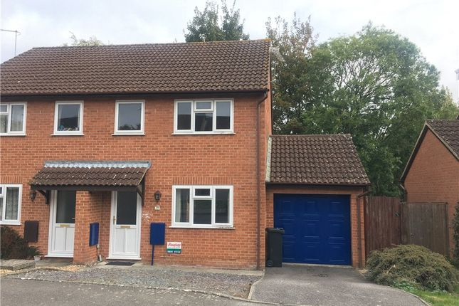 Thumbnail Semi-detached house to rent in Badgers Way, Sturminster Newton, Dorset