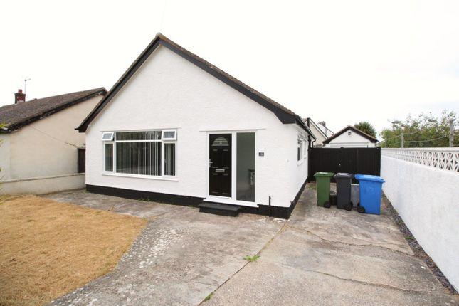 Thumbnail Bungalow for sale in Seabank Drive, Prestatyn, Denbighshire