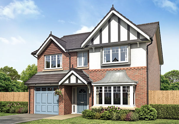 Thumbnail Detached house for sale in Duddle Lane, Preston