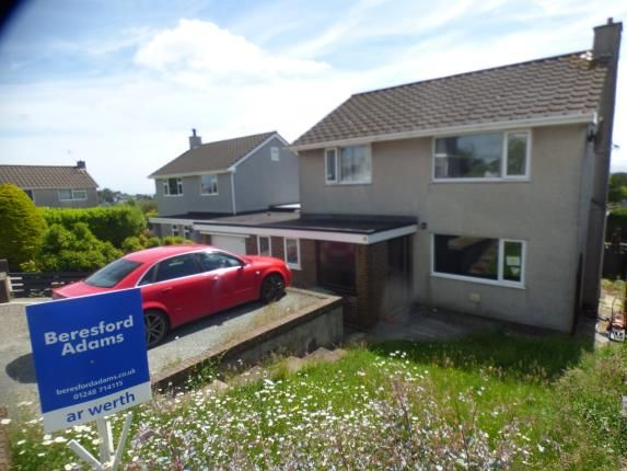 Thumbnail Detached house for sale in Stad Bryn Golau, Tyn Y Gongl, Benllech, Anglesey