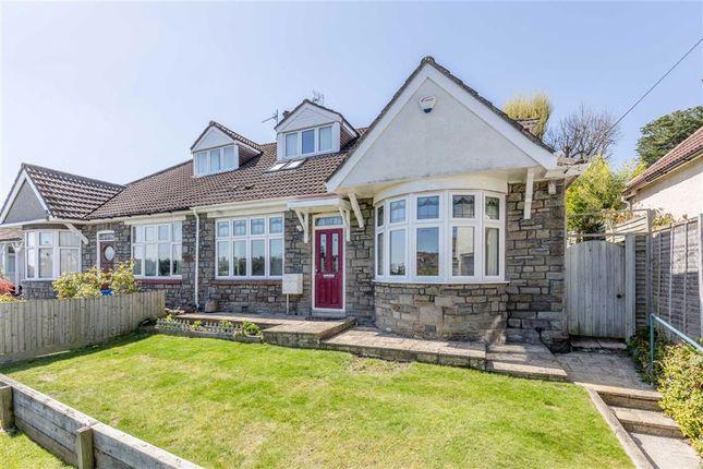 Thumbnail Semi-detached bungalow for sale in Cairns Road, Redland, Bristol