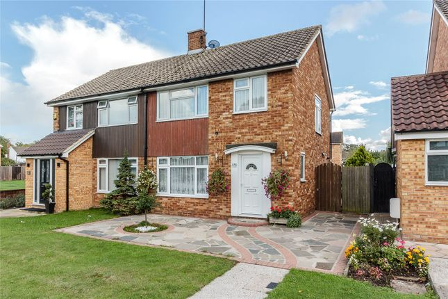 Thumbnail Semi-detached house for sale in Clay Hill Road, Kingswood, Essex