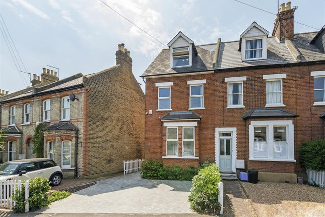 Thumbnail End terrace house for sale in Amity Grove, London