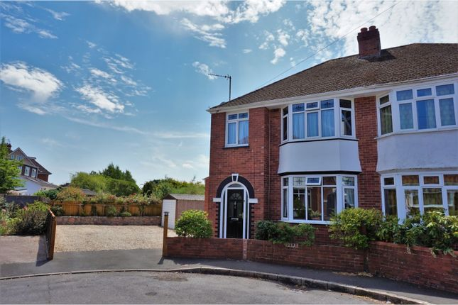 Thumbnail Semi-detached house for sale in Wallace Avenue, Exeter