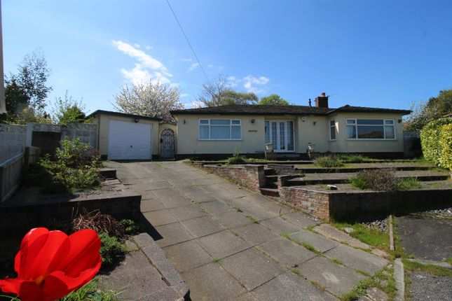 Thumbnail Detached bungalow for sale in Larksway, Gayton, Wirral
