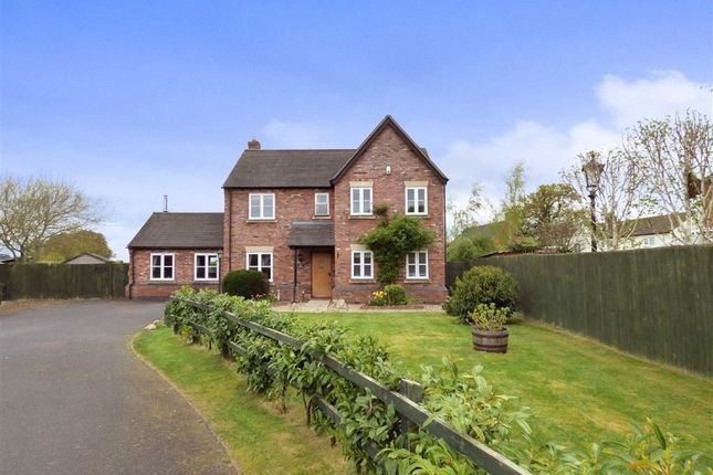 Thumbnail Detached house for sale in The Woodlands, Newtown, Shrewsbury