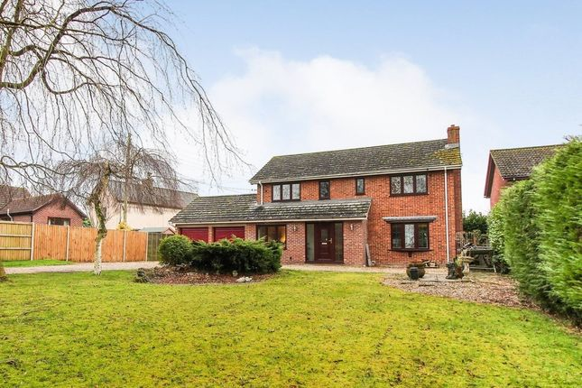 Thumbnail Detached house for sale in High Street, Wicklewood, Wymondham