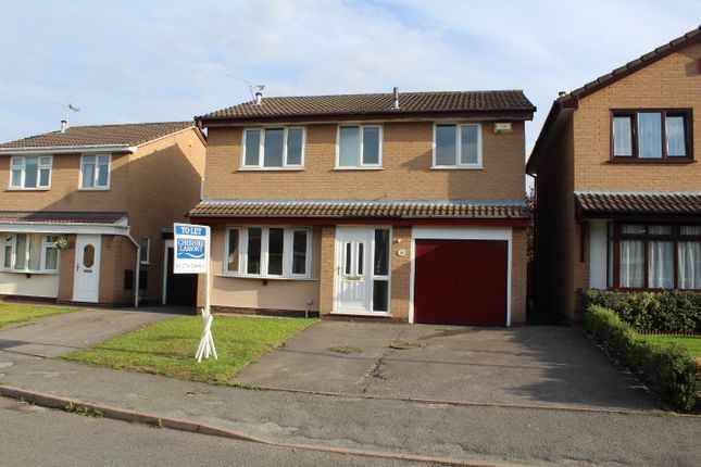 Thumbnail Detached house to rent in Becconsall Drive, Leighton, Crewe, Cheshire