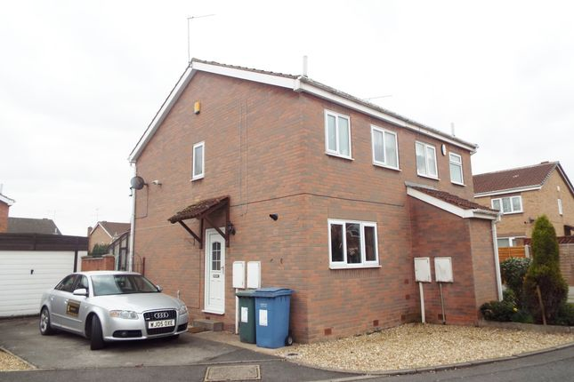 Thumbnail Semi-detached house to rent in Pasture Close, Worksop, Nottinghamshire