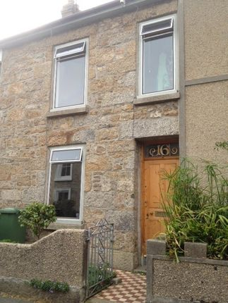 Thumbnail Terraced house to rent in Belgravia Street, Penzance, Cornwall