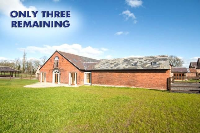 Thumbnail Barn conversion for sale in Cornish Hall Barns, Holt, Wrexham