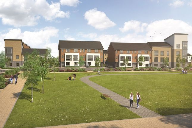 Thumbnail Town house for sale in Drake Way, Kennet Island, Reading