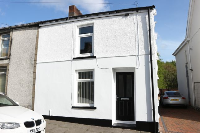 Thumbnail End terrace house for sale in Church Street, Penydarren, Merthyr Tydfil