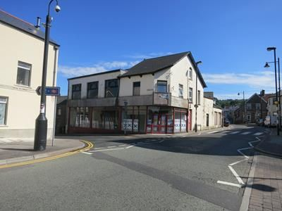 Thumbnail Retail premises to let in Ground Floor, Manchester House, Clifton Street, Caerphilly