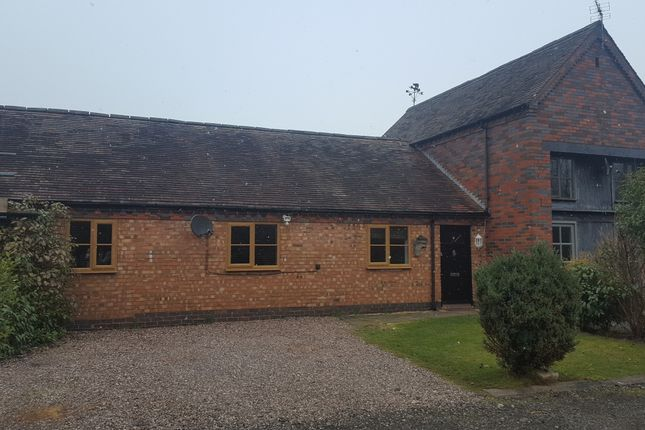 Thumbnail Barn conversion to rent in Barnes Wood Lane, Whitacre Heath