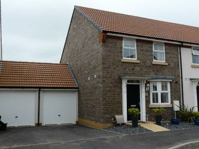 Thumbnail Semi-detached house to rent in Cambridge Way, Cullompton