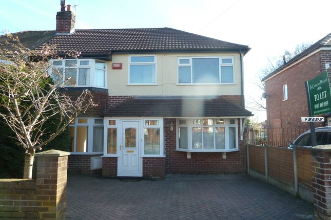 Thumbnail Semi-detached house to rent in Marsden Road, Romiley, Stockport