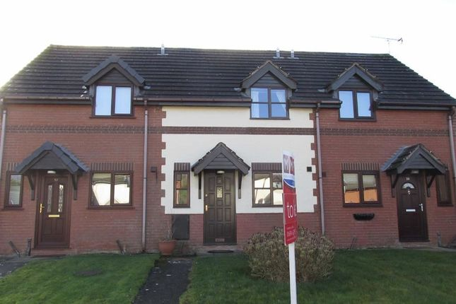 Thumbnail Terraced house to rent in 12, Martins Field, Trefonen, Oswestry, Shropshire