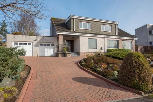 Thumbnail Detached house for sale in Leighton Avenue, Dunblane, Stirlingshire