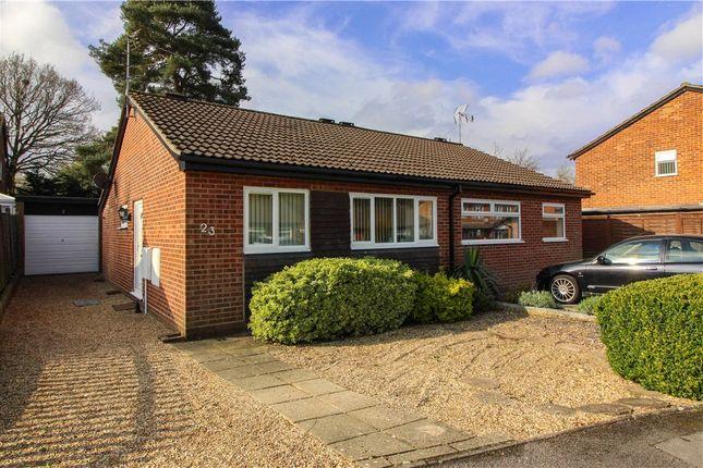 Thumbnail Bungalow for sale in Merton Close, Owlsmoor, Sandhurst, Berkshire