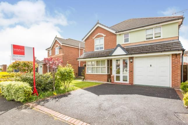 4 bed detached house for sale in Beltony Drive, Crewe, Cheshire CW1