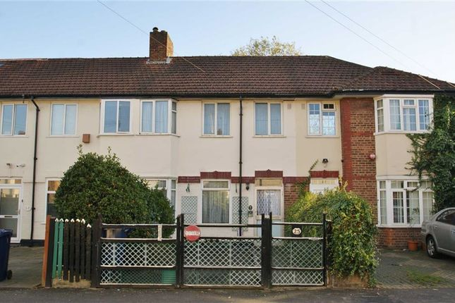 Thumbnail Terraced house for sale in Sunningdale Avenue, East Acton, London