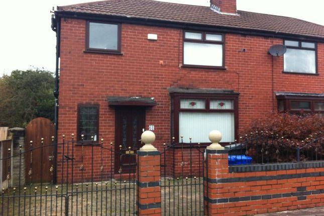 Thumbnail Semi-detached house to rent in Ashdale Crescent, Droylsden, Manchester