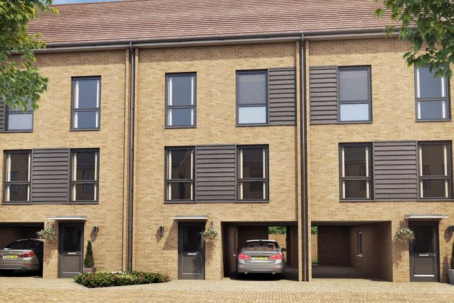 "Thumbnail Terraced house for sale in ""Linen II"" at Hackbridge Road, Wallington"
