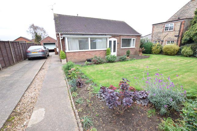 Thumbnail Detached bungalow for sale in Earlsgate, Winterton, Scunthorpe