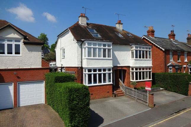 Thumbnail Semi-detached house to rent in Thorold Road, Farnham