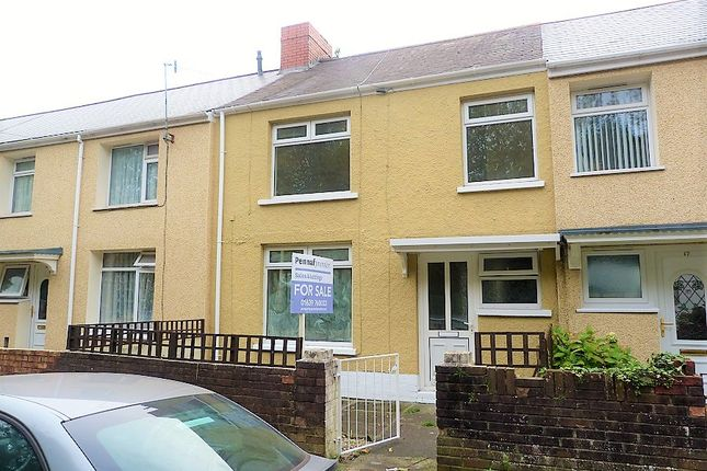 Thumbnail Terraced house for sale in Mount View Terrace, Port Talbot