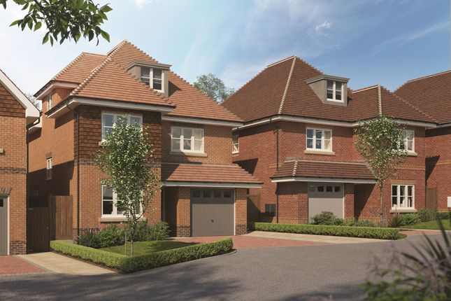 Thumbnail Detached house for sale in The Bramblings, Nork Way, Banstead