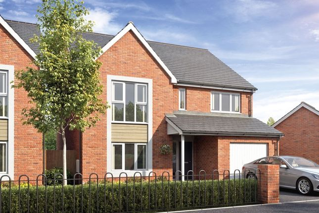 Thumbnail Detached house for sale in Cofton Grange, Cofton Hackett, Birmingham