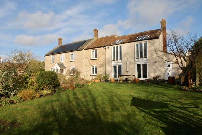 Thumbnail Detached house for sale in Free Hill, Westbury Sub Mendip, Wells
